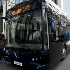 Türkiye'nin İlk Yerli Elektrikli Otobüsü : Avenue EV