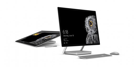 "Microsoft'tan iMac'e ""dev"" göz dağı: Surface Studio [Video]"
