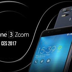 CES 2017: Asus'tan çift kameralı Zenfone 3 Zoom!