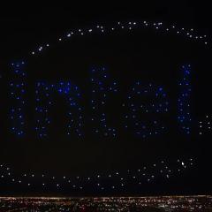 İntel'den drone şov!