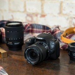 Dünyanın en hafif DSLR fotoğraf makinesi: Canon EOS 200D