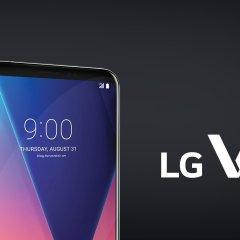 LG'nin OLED ekranlı yeni amiral gemisi : LG V30