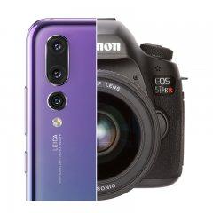 Huawei P20 Pro ile Canon EOS 5DS R karşı karşıya!