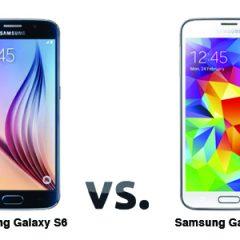 Samsung Galaxy S6 ve S5 karşılaştırma