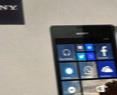 Sony'den Windows Phone'lu cep!