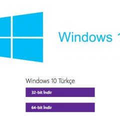 Windows 10 iso dosyası nasıl indirilir?